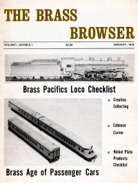 Brass Browser Catalog 1974