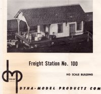 Dyna-Models Freight House Instructions
