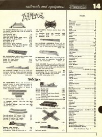 Model Railroad Equipment Catalog