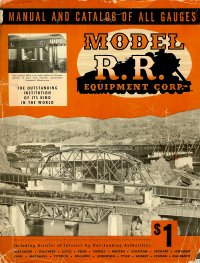 Model Railroad Equipment Catalog 1950