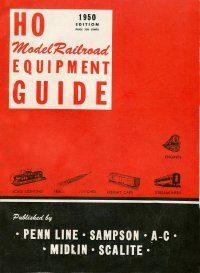 HO Model RailRoad Equipment Guide 1950