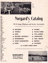 Norgard Catalog and Supplement 1953