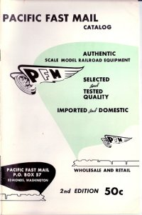 Pacific Fast Mail Tenshodo Models Advertisements