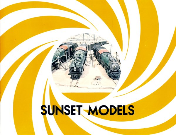Sunset Models Catalog 1979